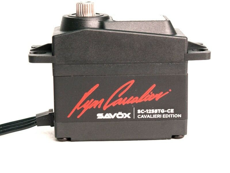 SAVSC1258TG-CE Savox Cavalieri Edition Coreless Digital Servo, .08sec / 166oz @