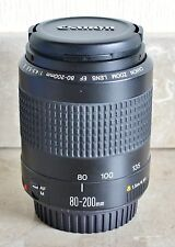 Canon EF 80 - 200mm 1:4.5-5.6 (MkII) Lens for SLR,1000D 350D 400D 450D 500D 600D