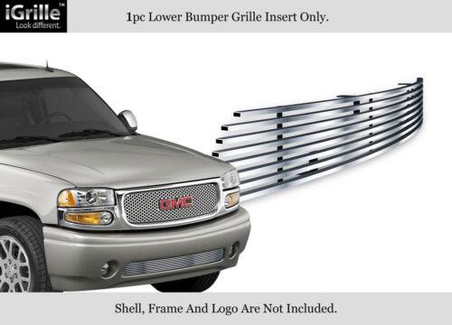 Fits 99-06 Yukon Denali//02-06 Sierra Bumper Stainless Steel Billet Grille