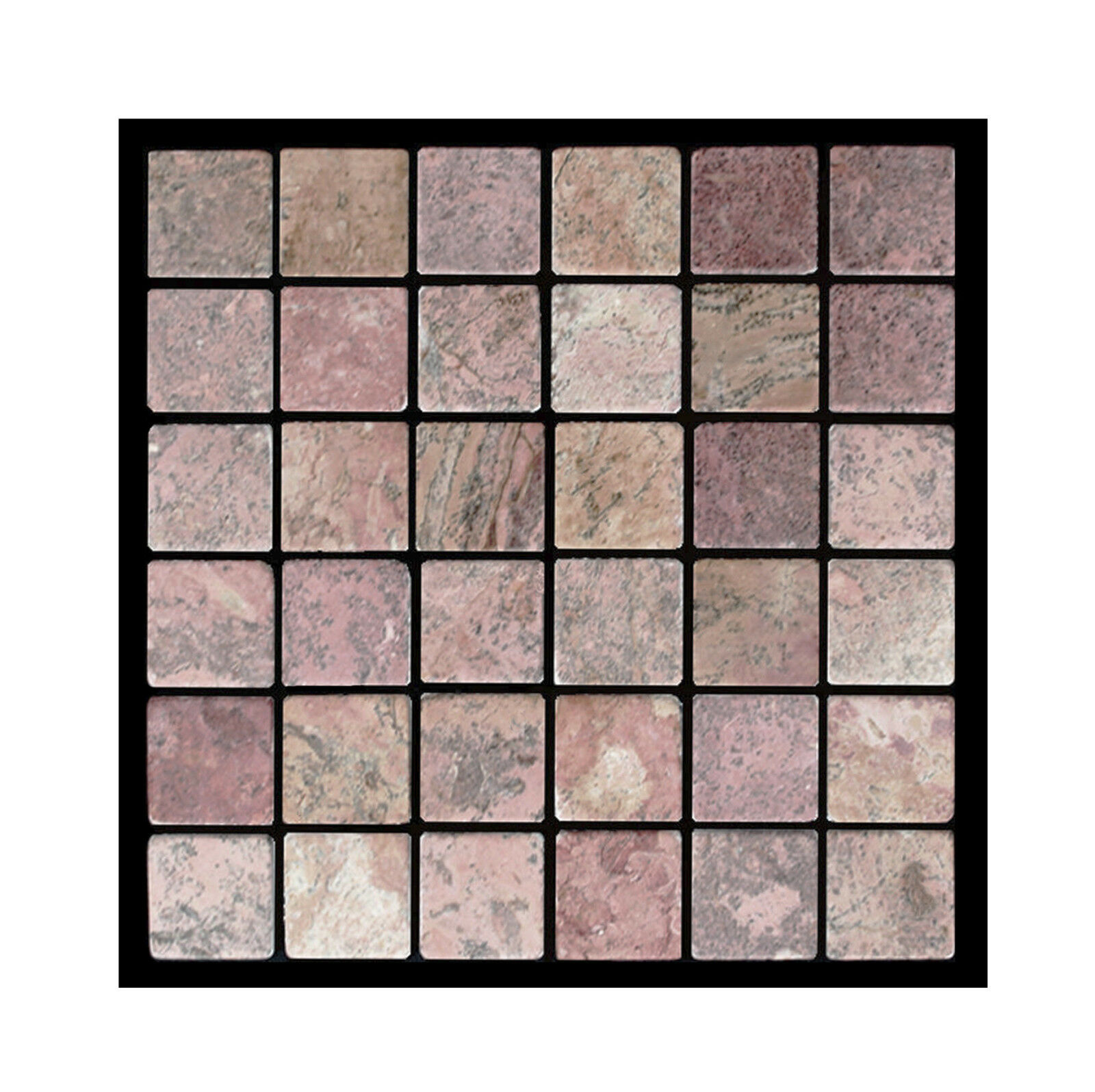 1 qm Marmor PA-802 Mosaik Fliesen Lager NRW - Steinmosaik Herne - Naturstein -