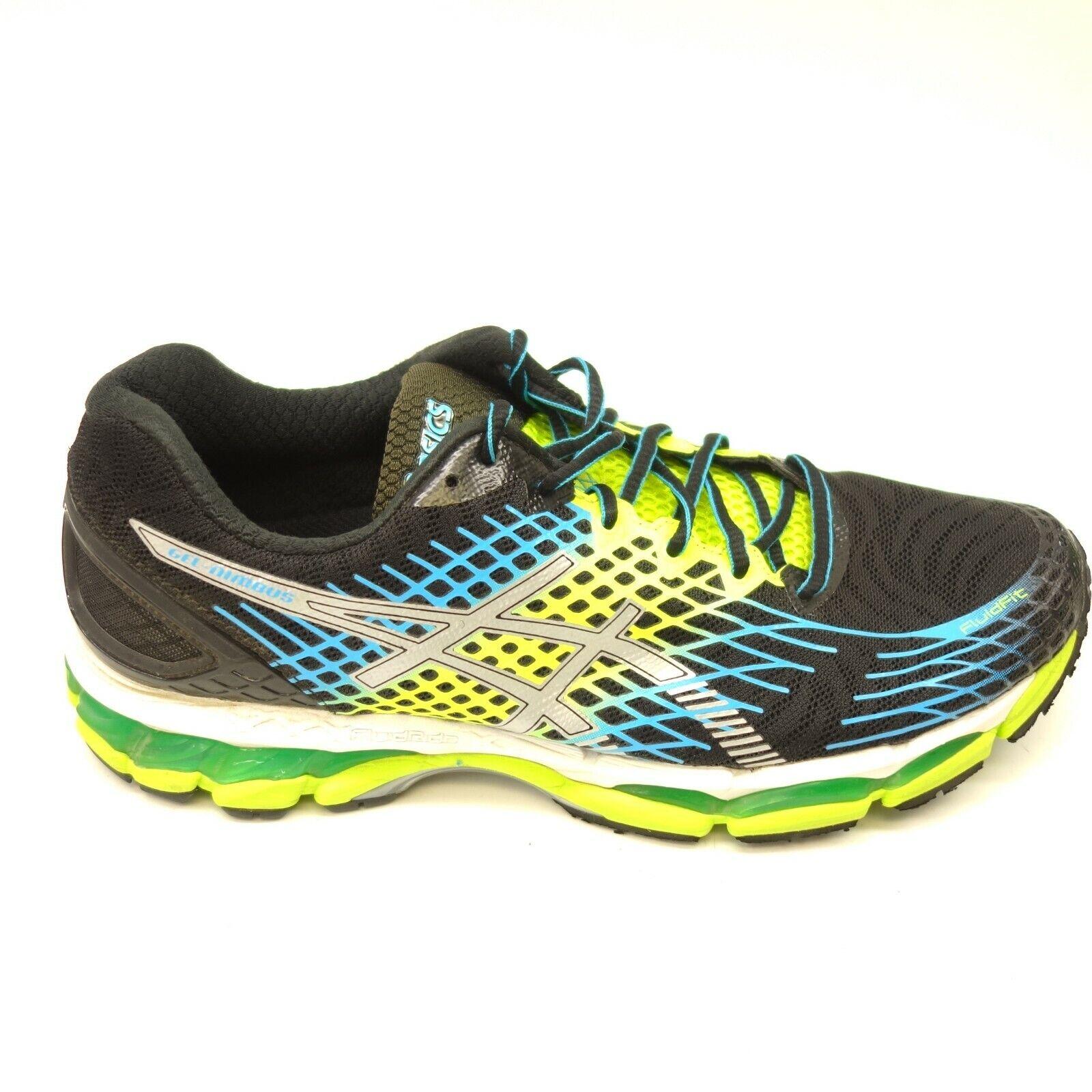 Asics Gel Nimbus T507N US 10 EU 44 Black Athletic Running Training Mens shoes