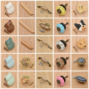 Ceramic-Cabinet-Knob-Handle-Door-Pull-Drawer-Cupboard-Hardware-Decor-Home-Supply
