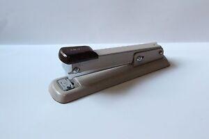 Image Is Loading Bates Metal Stapler Large Working Vintage