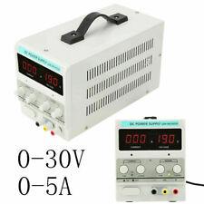 30v 5a 110v Dc Power Supply Precision Variable Digital Adjustable Regulated Lab