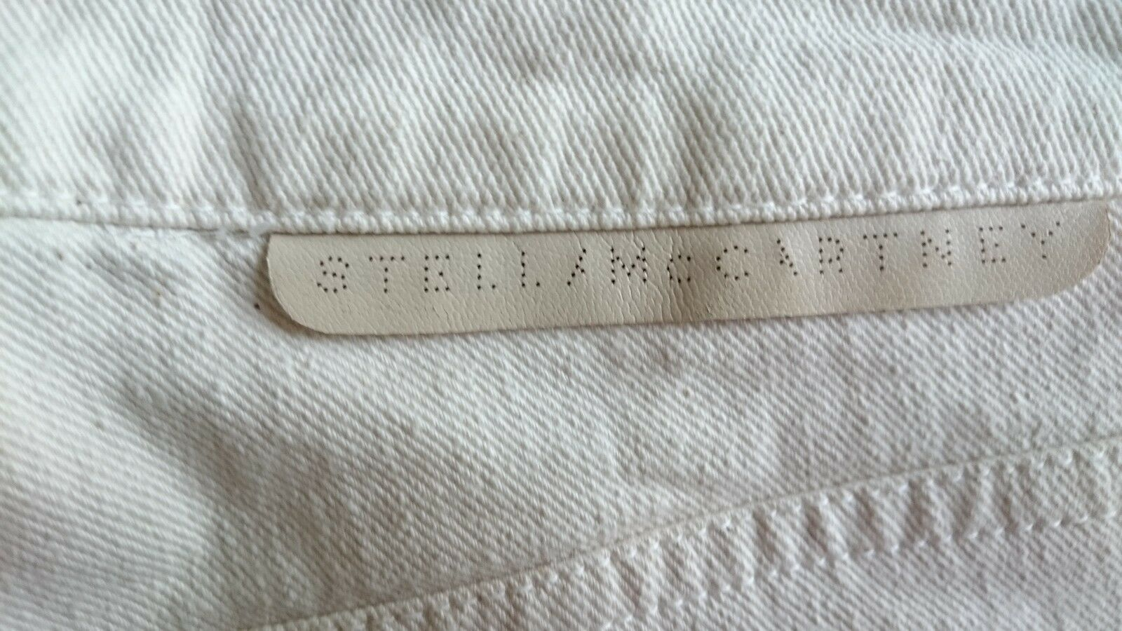 STELLA Mc CARTNEY Jeans, Taglia Taglia Taglia 26 W27,L28 Mid salire, slim fit, zip alla caviglia, MADE IN ITALY c47cfd