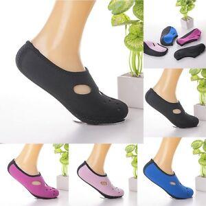 d26ab9f58218 Women Men Water Shoes Aqua Sock Yoga Exercise Pool Beach Dance Swim ...