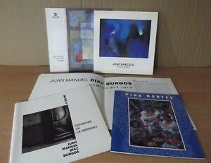 Cuadernos-de-arte-lote-de-5-cajamurcia-CAM-diversos-artistas