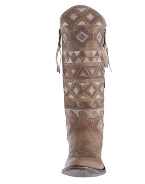 NEW IN BOX WOMENS OLD GRINGO DURANGO VESUVIO BONE RAZZ BOOTS L2455-4 SIZE 8.5
