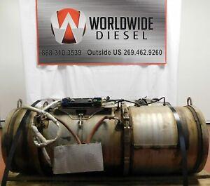 2011 Cummins ISX Diesel Engine DPF Filter SET.