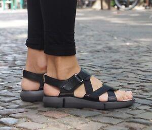 Details zu Clarks TRI CLOVER Damen Sandale Sandaletten schwarz NEU