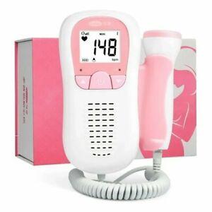 Detector de latidos del corazón del bebe durante el embarazo. Doppler Fetal
