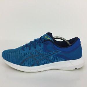 ASICS nitrofuze 2 Bleu Textile Sports Trainer Sneaker T7E3N Hommes UK 10 EUR 45