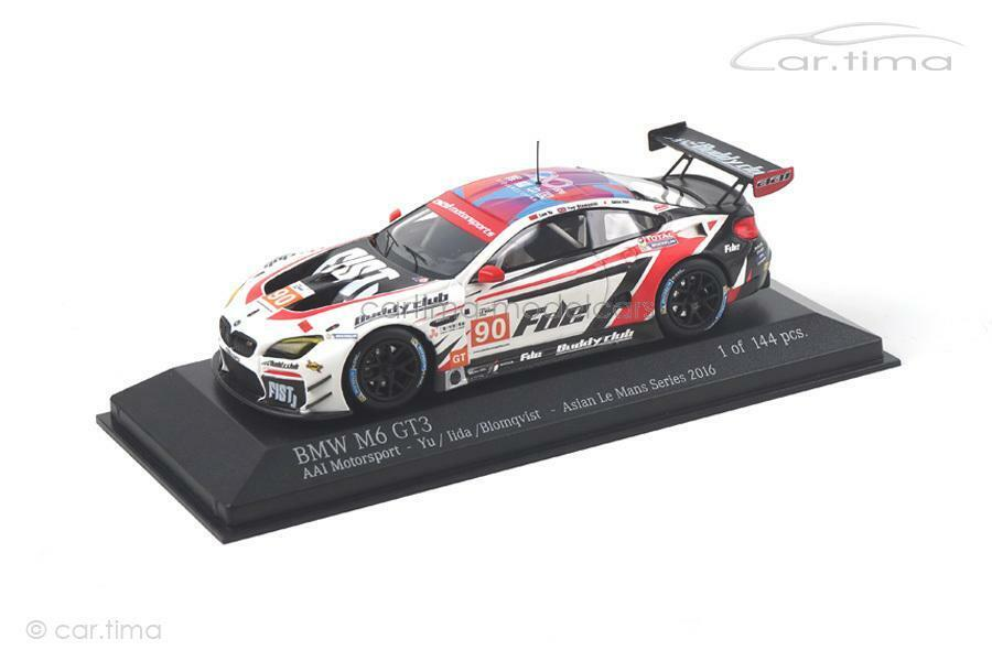 BMW M6 GT3 - Asian Le Mans Series 2016 - Blomqvist   Iida - 1 of 144 - Minichamp