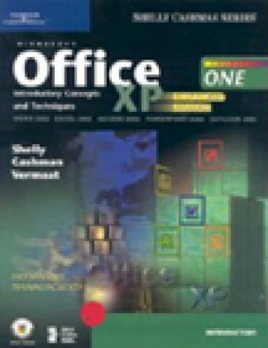 1 of 1 - Microsoft Office XP: Introductory Concepts and Techniques, Enhanced (Shelly Cash