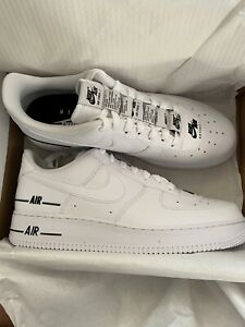 Details about Nike Air Force 1 07 LV8 Low Double Air White Men Size 10.5 New