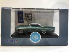 HO 1:87 Oxford 1959 Pontiac Bonneville Coupe Seaspray Green PB59003