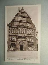 Ansichskarte Paderborn Altdeutsches Haus am Marienplatz