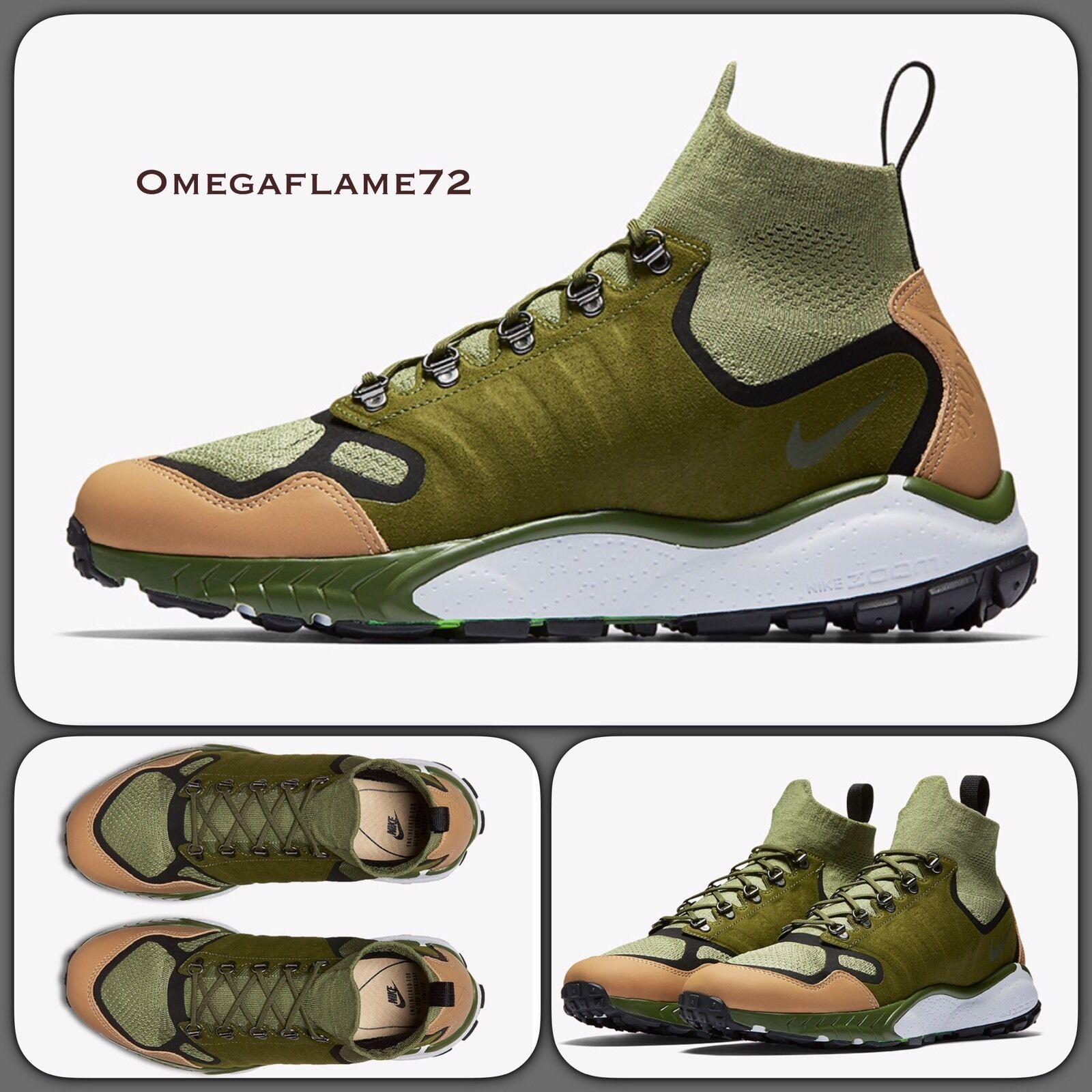 Nike Zoom Talaria Mid Flyknit Premium Air 41 8757842018 Reino Unido 7, 41 Air de la UE, EE. UU. 8 ACG f54718