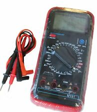 Versitile Digital Multimeter With Acdc Res Cap Transistor And Diode Testing