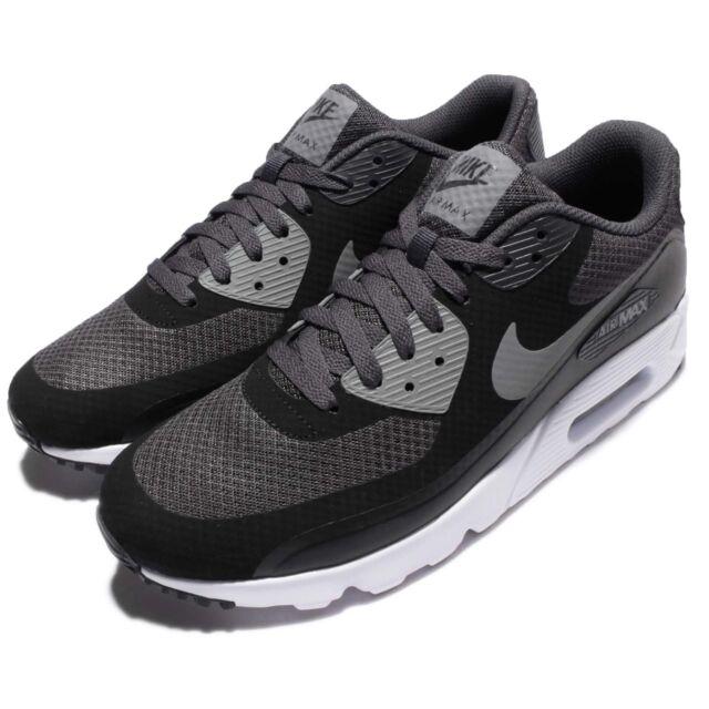 best service 26e4a 907ac Nike Air Max 90 Ultra Essential Black Grey Mens Running Shoes Sneaker  819474-003