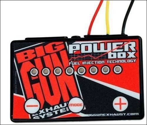 Big Gun Exhaust EVO ECO EXO EFI TFI Fuel Controller Power Box YFZ 450R 450X