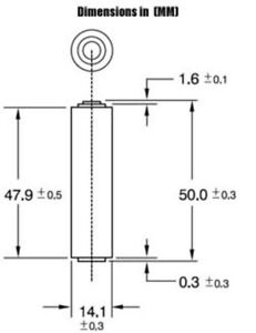 24 pcs Size AA LR6 AM-3 0% Hg Heavy Duty Bulk 1.5V Alkaline Battery
