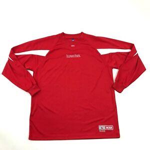 rode Illinois mouw fit grote Jersey lange oversized losse volwassen Ncaa State Nieuwe 0qPwzw