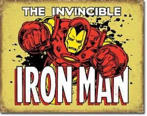 Iron-Man-Invincible-Metal-Tin-Sign-Wall-Art