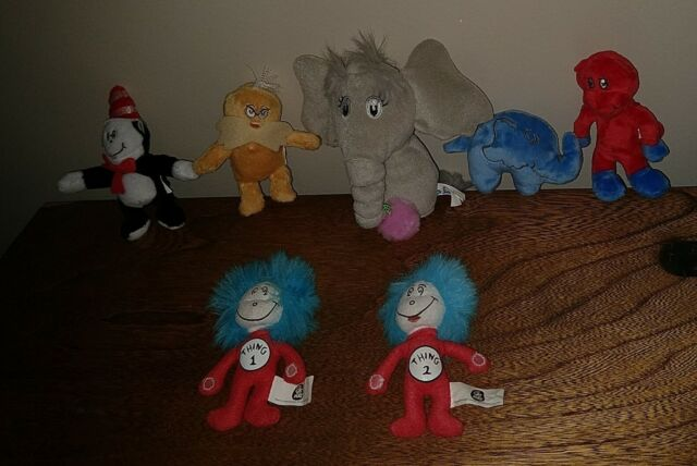 25 Dr Seuss Cat In The Hat Stickers Party Favors Teacher Supply Thing 1 Thing 2