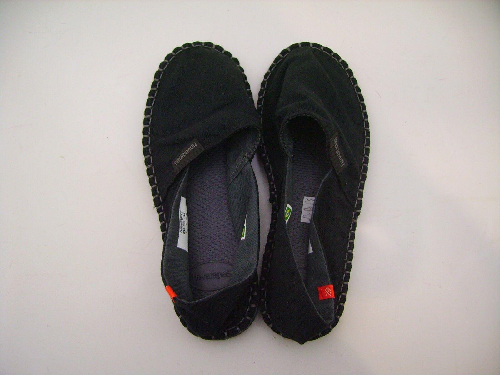Havaianas shoes Cloth Man Woman Espadrilles Orig III Preto Black ita38