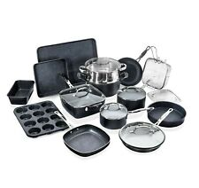 Granite Stone 20 Piece All in One Kitchen, Nonstick Cookware & Bakeware Set, NEW
