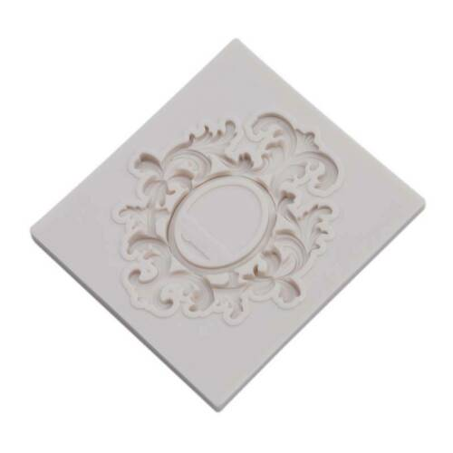 Picture Frame Mould Fondant Cake Topper Sugarcraft Chocolate Icing Mold BL