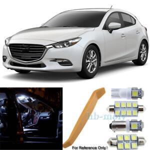 Para-Mazda-3-BM-Led-Interior-Kit-Premium-6-SMD-Bombillas-Xenon-Blanco-Set-2013-2018