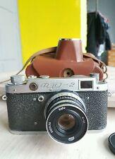 FED 2 USSR Russian Camera + Industar 26M lens