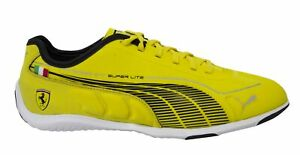 Puma Speed Cat Super Lite Mens Low Yellow Lace Up Trainers 304377 05