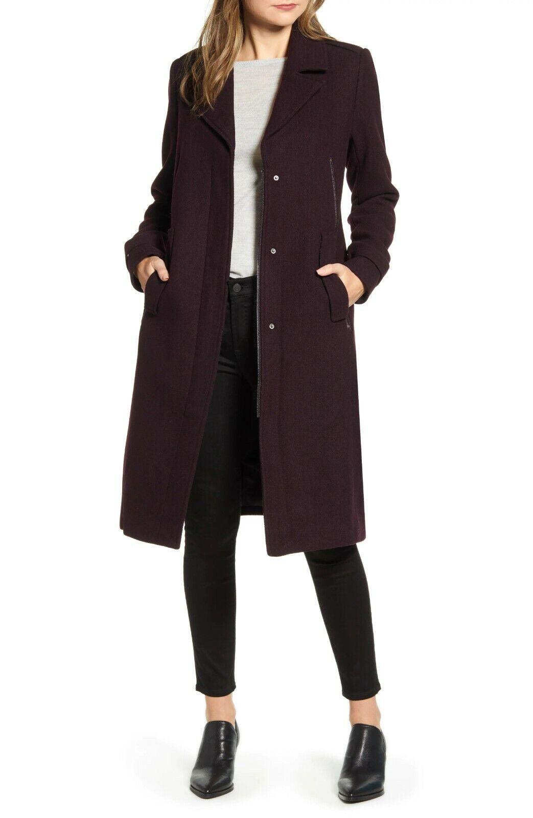 NWOT Marc New York Wool Blend Melton Coat 2