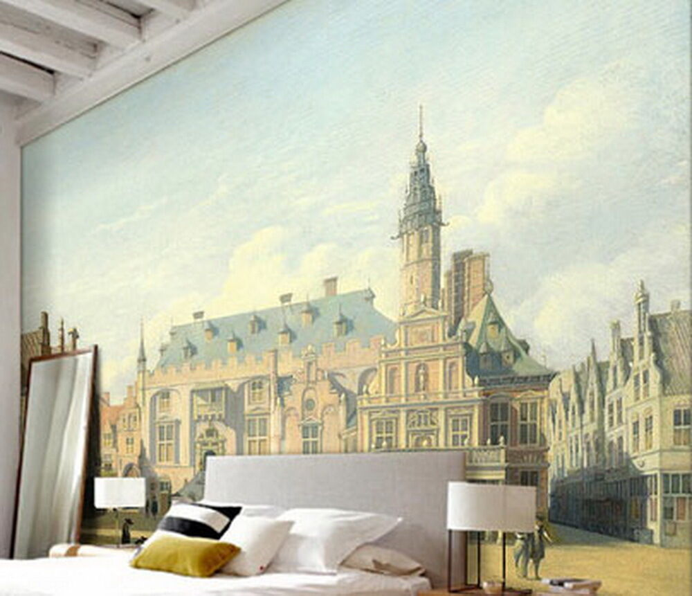The Palace Square Wallpaper Wall Decals Wall Art Print Mural