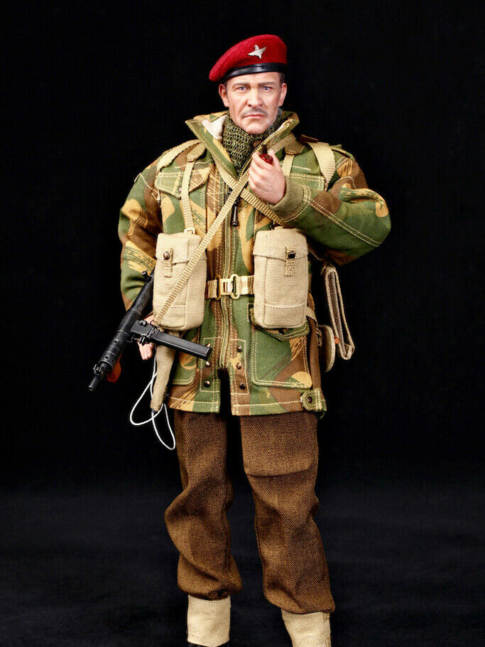 In-Stock 1 6 Scale DID WWII British Airborne  rot Devil  K80135 12in Figure