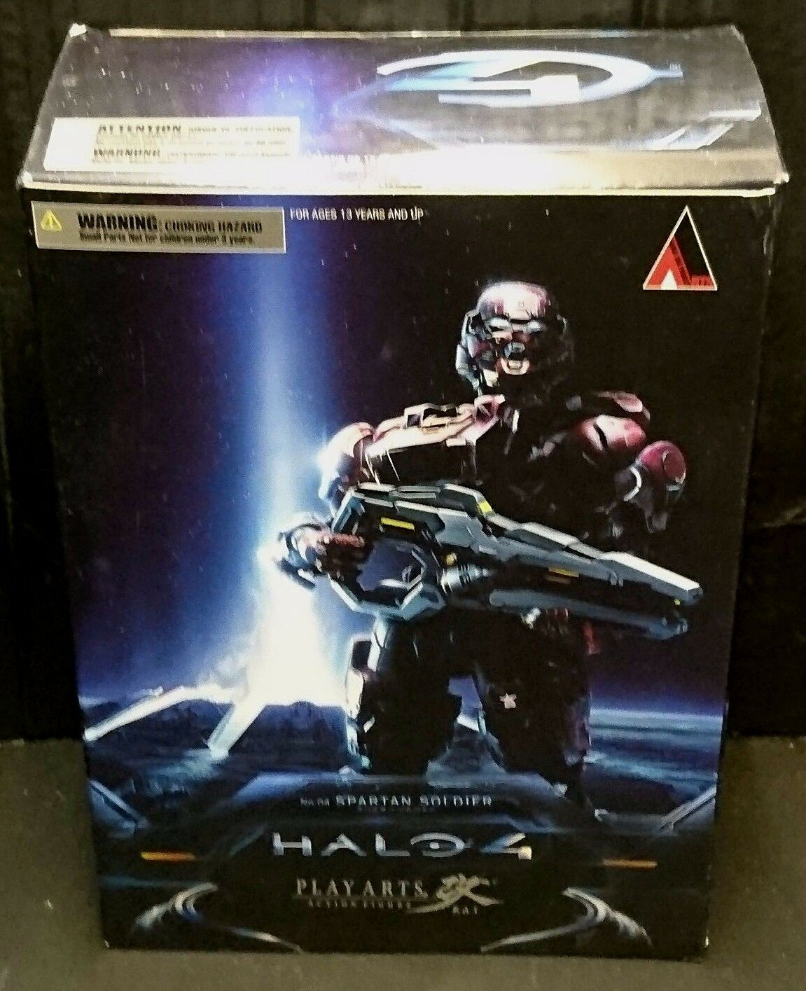 Play Arts Kai HALO 4 SPARTAN SOLDIER (ROT) 9