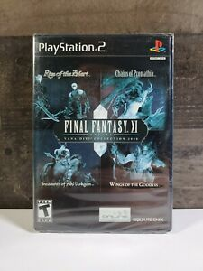 Final-Fantasy-XI-Online-Vana-039-diel-Collection-2008-PS2-RARE-BRAND-NEW-SEALED