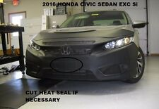 Lebra Front End Mask Cover Bra Fits HONDA CIVIC SEDAN & Coupe Exc.Si 2016 2017