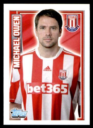 Topps Premier League 2013-Michael Owen Stoke City No 254