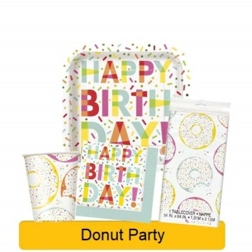 General BIRTHDAY PARTY Event RANGES Tableware Balloons Banners /& Decorations