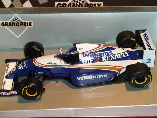 1:18 Minichamps Ayrton Senna Test Voiture Williams FW15/16 ORIGINAL RELEASE 180941002