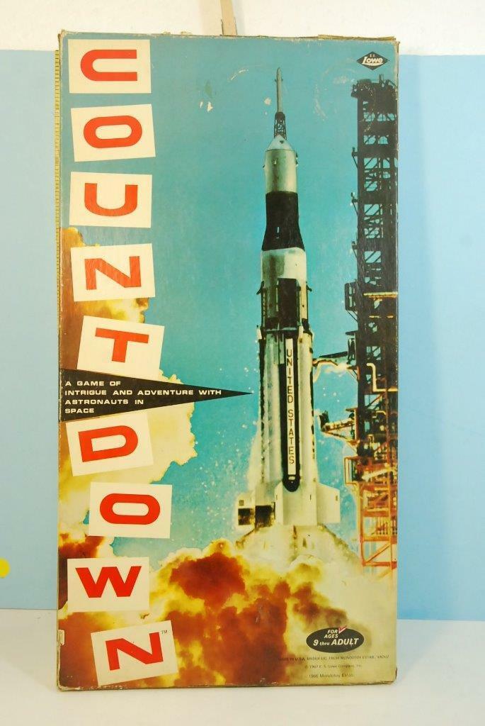 Countdown Astronaut Nasa Apollo Moon Mission Game 1967
