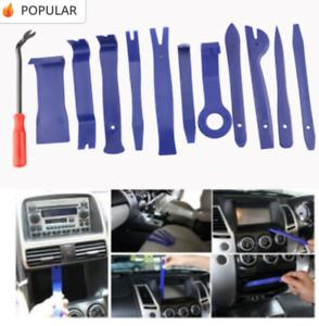 Car Trim Door Molding Removing Kit, 19 Pieces, Pouch, Pry Tool Interior DIY Kit
