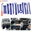 thumbnail 1 - Car Trim Door Molding Removing Kit, 19 Pieces, Pouch, Pry Tool Interior DIY Kit