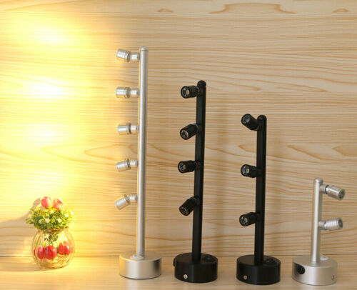 Rechargeable LED Table Pole Light Wireless Battery-Powered Jewelry Lamp Switch