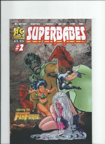AC Comics Superbabes 2 NM-//M 2019