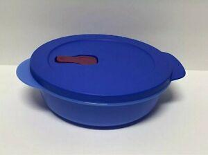 New TUPPERWARE Crystalwave Plus 4 1//4 CUP Round MICROWAVE REHEATABLE BPA-Free